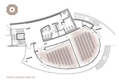 Kombinierbare Tagungsräume Gaistal & Dobeltal