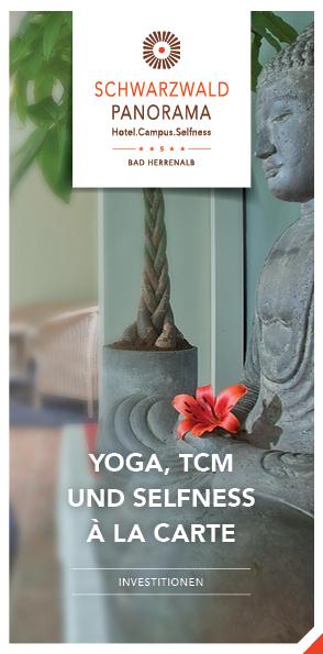 Broschüre Yoga, TCM und Selfness á la Carte