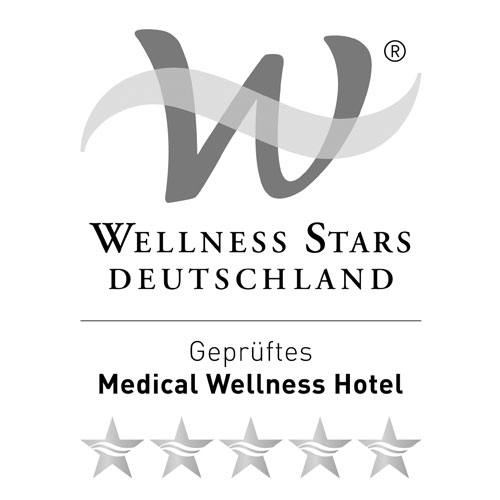 Logo Wellness Stars Allemagne – certifié Medical Wellness Hôtel