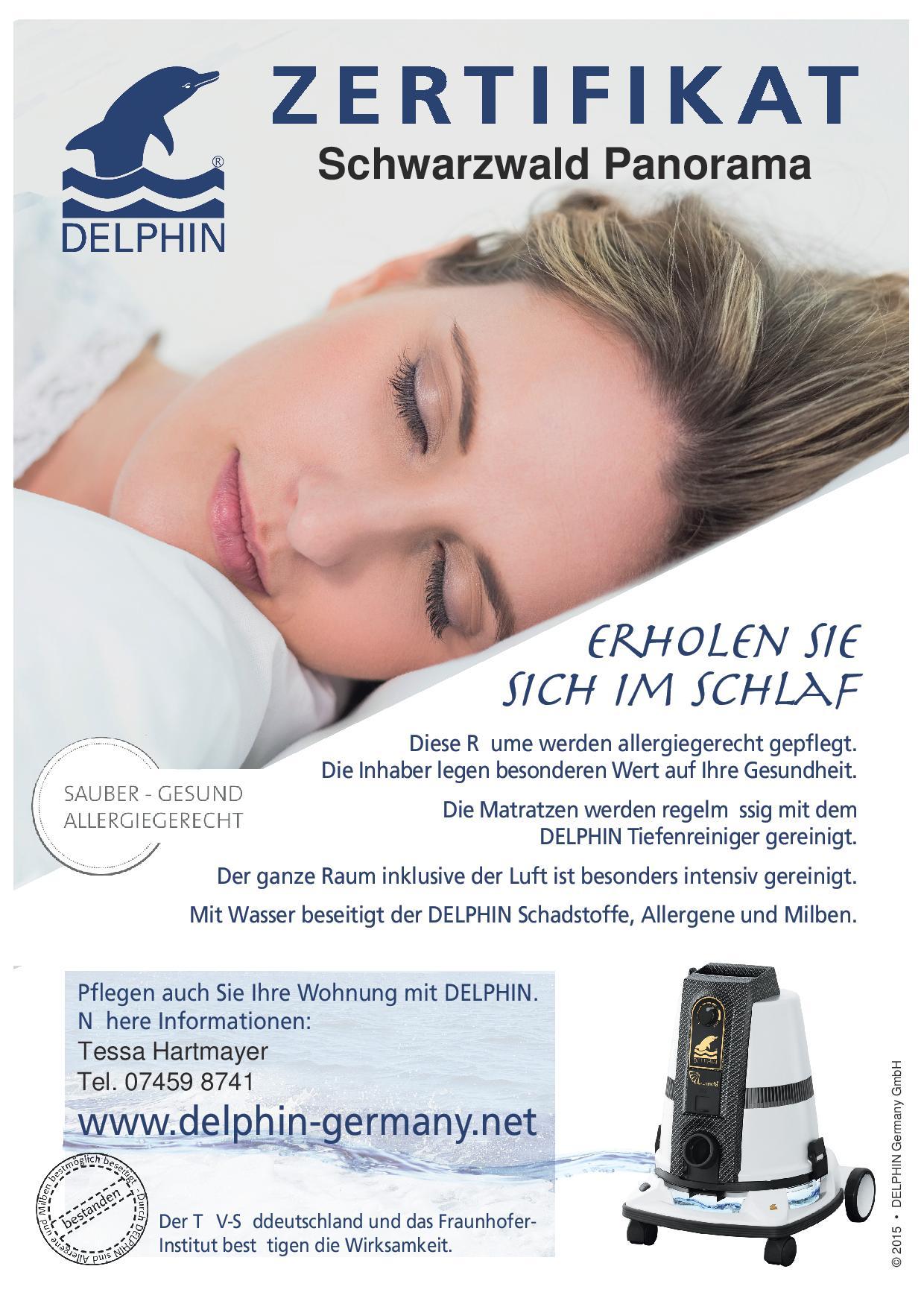 Zertifikat Delphin