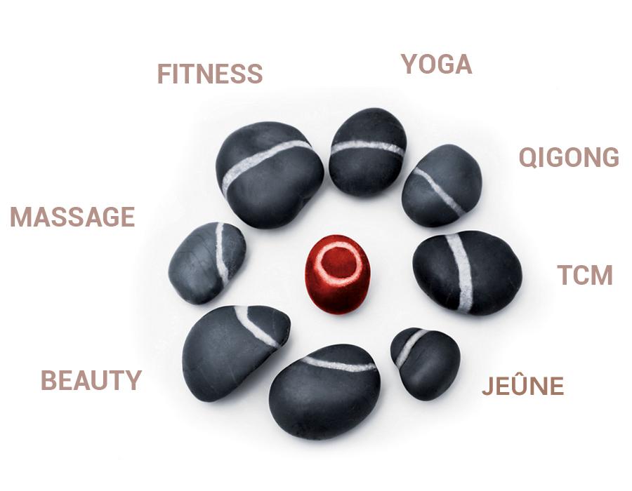 Concept pour le bien-être et de la santé dans le Selfness Hôtel Schwarzwald Panorama: Yoga, Qigong, TCM, fitness, massages, beauté et le jeûne