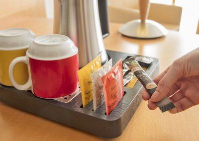 Kaffee- und Teestation