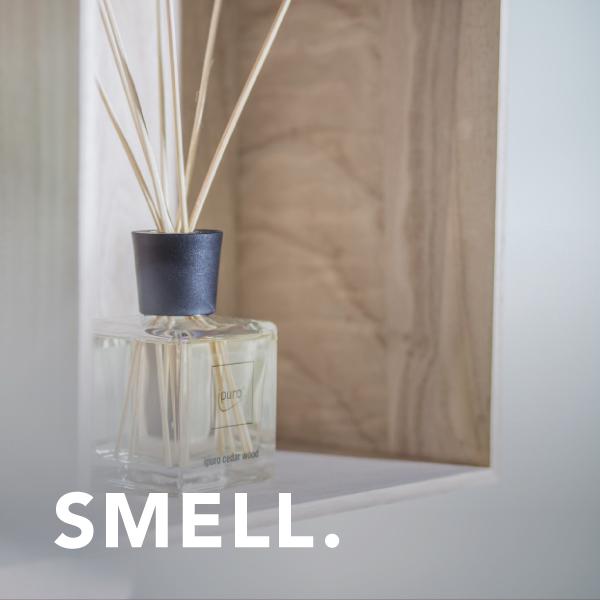 Smell: room fragrance ipuro cedar wood