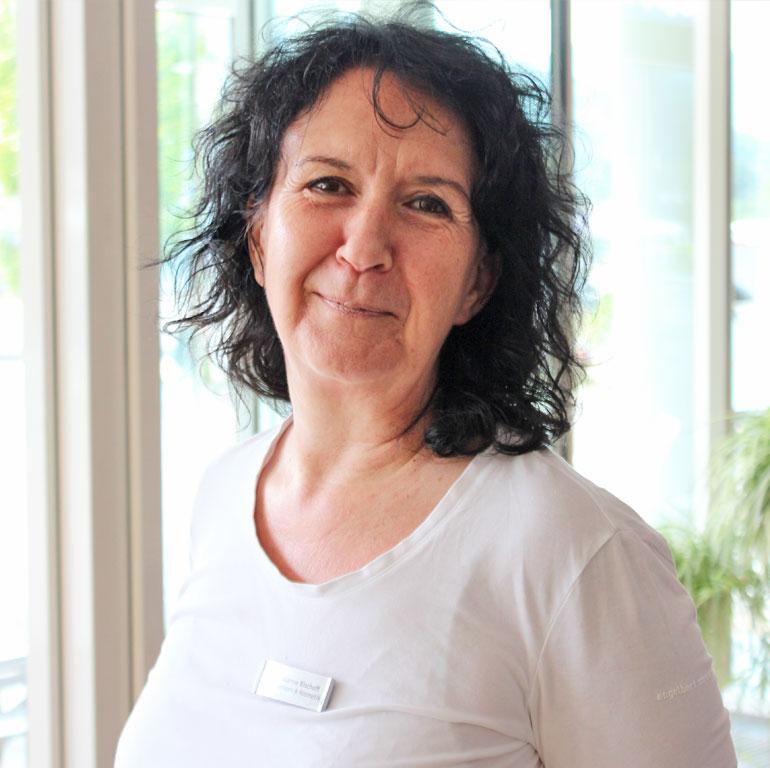 Susanne Eck, Wellnessleiterin im Wellnesshotel Schwarzwald Panorama