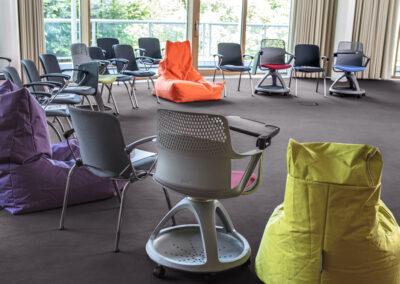 Das Stuhlbuffet steht Tagungsgästen im CAMPUS-Bereich im Tagungshotel SCHWARZWALD PANORAMA.